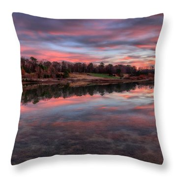 Nature Reserved Throw Pillow