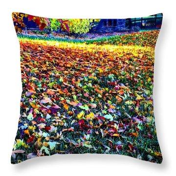Nature Romancing Us Throw Pillow