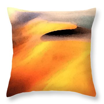 Nature Shapes   Throw Pillow