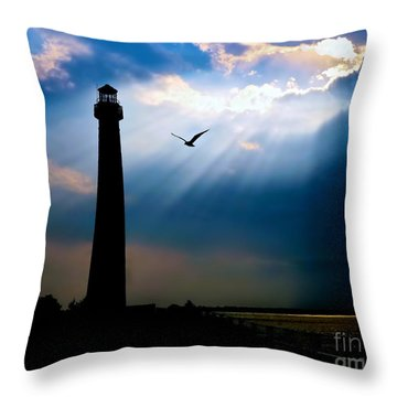 Nature Shines Brighter Throw Pillow