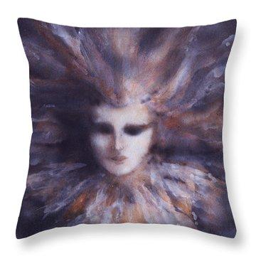 Nature Sprite Throw Pillow