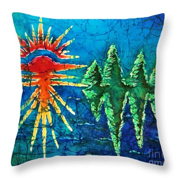 Nature Throw Pillow by Sue Duda