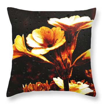 Nature Uncovered  Throw Pillow by Andrew Hunter