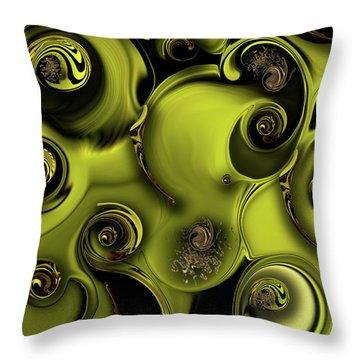 Nature Vs Work Throw Pillow