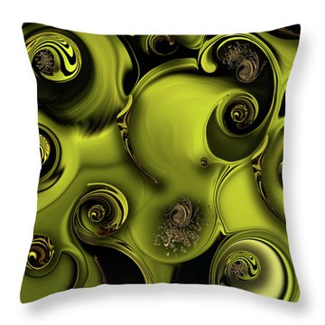 Nature Vs Work Throw Pillow