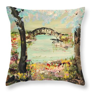 Nature Walk Throw Pillow