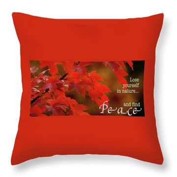 Nature202 Throw Pillow