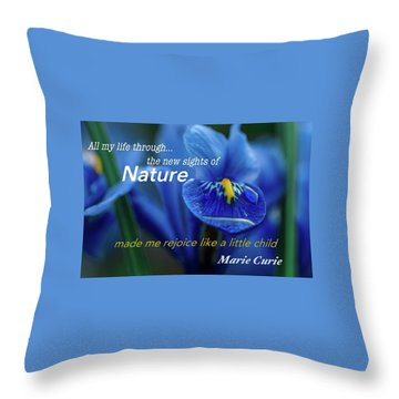 Nature208 Throw Pillow