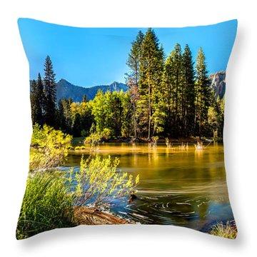 Yosemite Throw Pillows