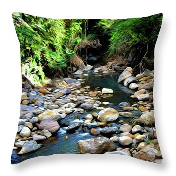 Nature's Beauty 50 Version 3 Throw Pillow