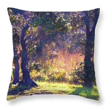 Nature's Beauty 81 Throw Pillow