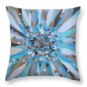 Natures Burst Of Harmony Throw Pillow