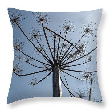 Natures Carnival Throw Pillow