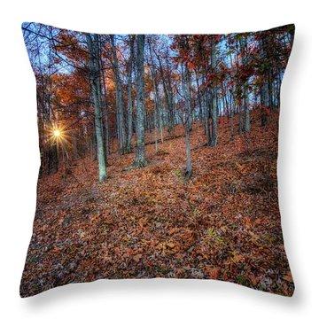 Nature's Carpet Throw Pillow