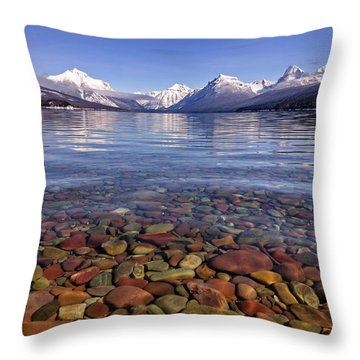 Nature's Colors Throw Pillow