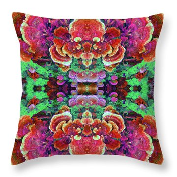 Nature's Drum Throw Pillow