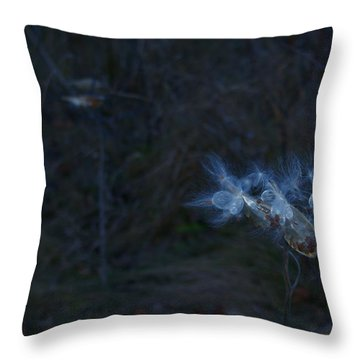 Natures Fairies Throw Pillow
