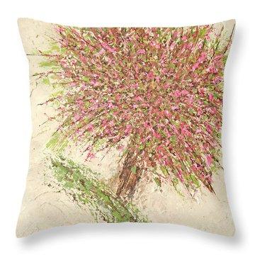 Nature's Fireworks Throw Pillow