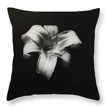 Lilies Throw Pillows