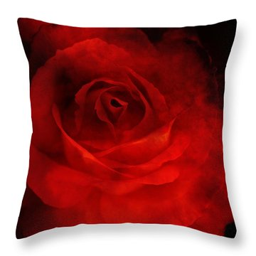 Throw Pillow featuring the photograph Natures Flame by Stephen Mitchell