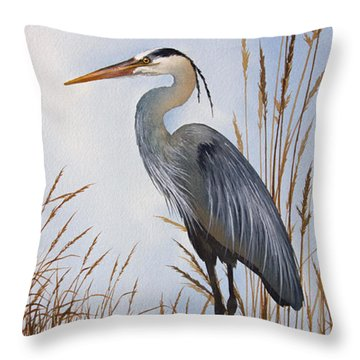 Nature's Gentle Beauty Throw Pillow by James Williamson