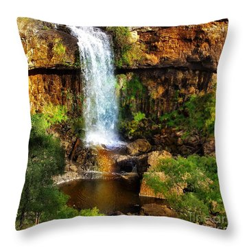 Natures Gift Throw Pillow by Blair Stuart