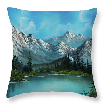 Nature's Grandeur Throw Pillow