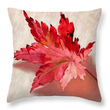 Nature's Handshake Throw Pillow