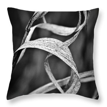 Natures Knot Throw Pillow by Monte Stevens