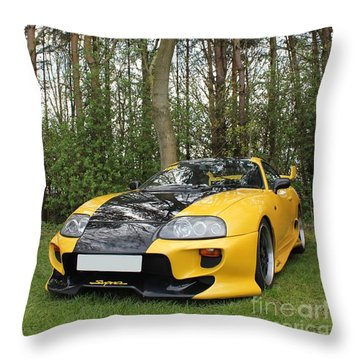 Nature's Machine Throw Pillow