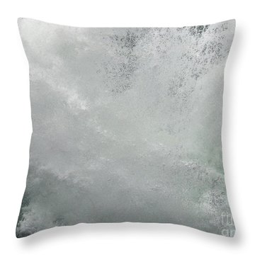 Throw Pillow featuring the photograph Nature's Power by Peggy Hughes