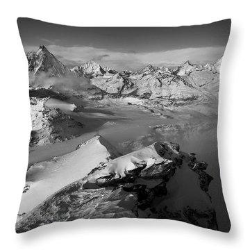 Natures Pyramids Throw Pillow