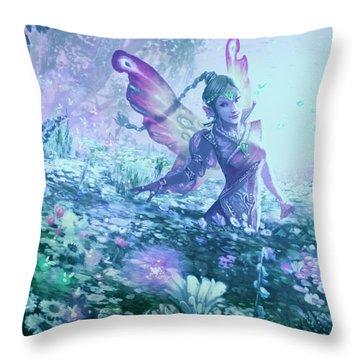 Nature's Renewal Throw Pillow