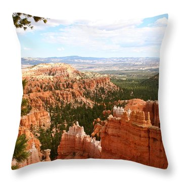 Nature's Spendour Throw Pillow