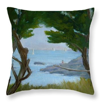Nature's View Throw Pillow