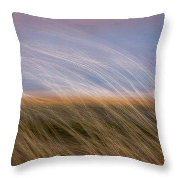 Nauset Beach 2 Throw Pillow
