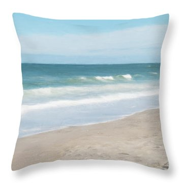 Nauset Beach Throw Pillow