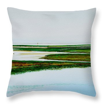 Nauset Osprey Throw Pillow