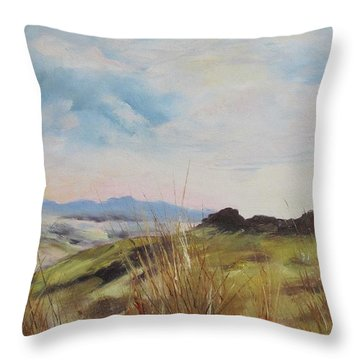 Nausori Highlands Of Fiji Throw Pillow