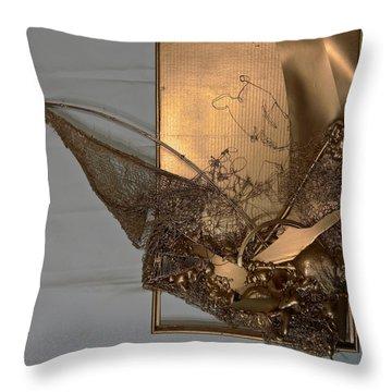 Nautical Abstract #11518 Throw Pillow
