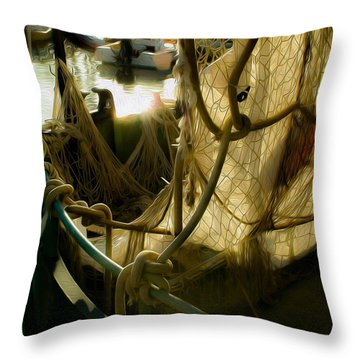 Nautical Dreams Throw Pillow