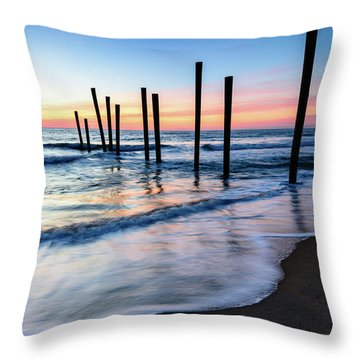 Nautical Morning Throw Pillow