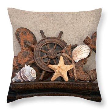 Nautical Still Life IIi Throw Pillow