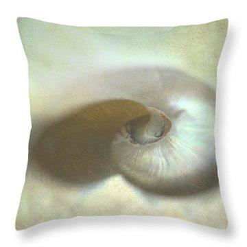 Nautilus #1 Throw Pillow