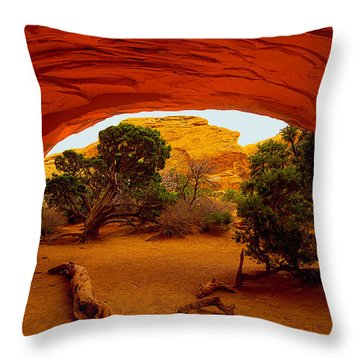 Navajo Arch Throw Pillow