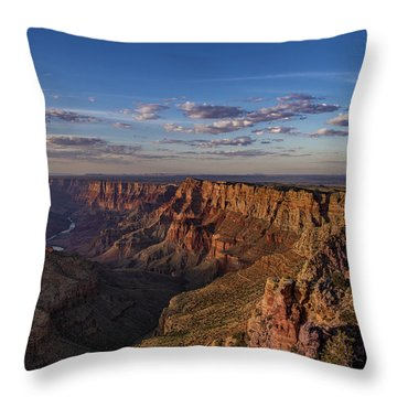 Navajo Point Throw Pillow by Phil Abrams