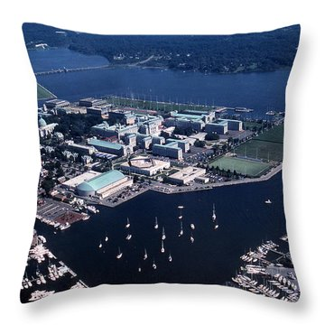 Naval Academy Throw Pillow