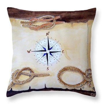 Navigating Throw Pillow