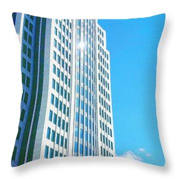 Nbc Tower Throw Pillow