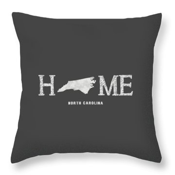 Nc Home Throw Pillow by Nancy Ingersoll